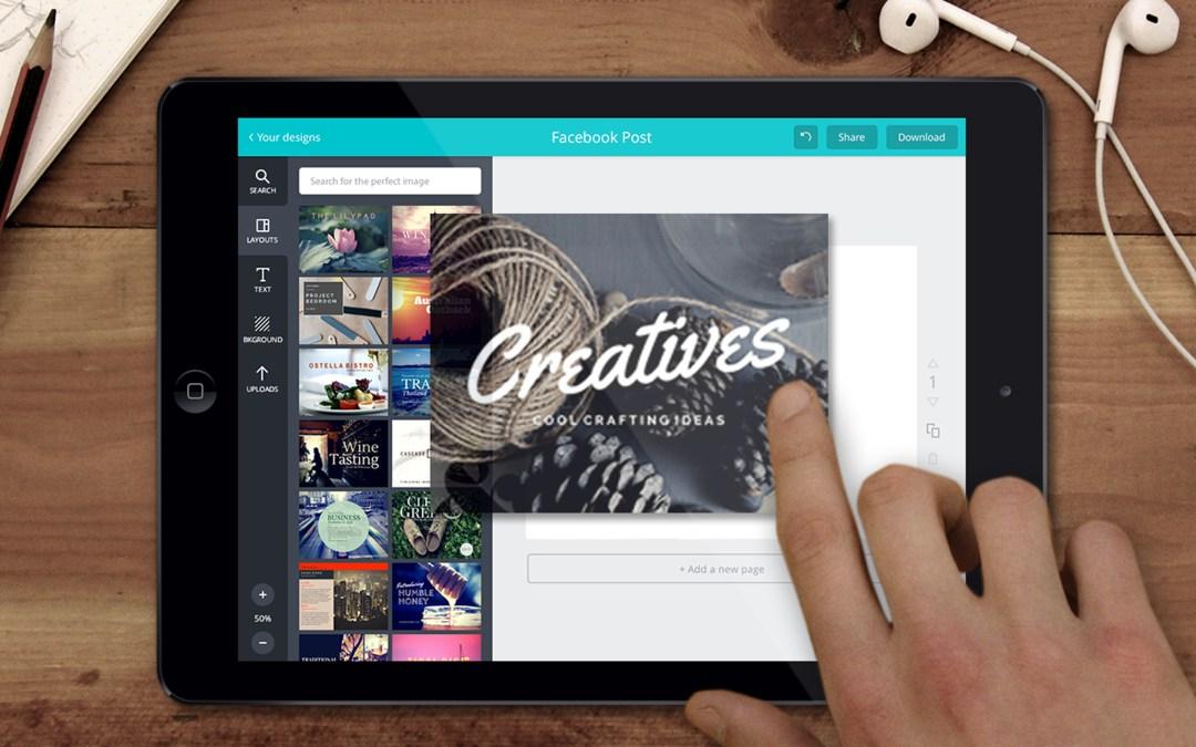 Canva, la aplicación para realizar diseños gráficos