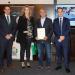 Entrega del II Premio Impulso TIC al colegio Santo Ángel (Avilés)
