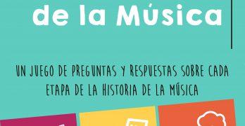 JUEGA CON LA HISTORIA DE LA MÚSICA-CIUDAD DE LOS MUCHACHOS