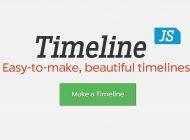 Ejes cronológicos con Timeline JS