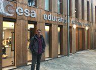 """Un profesor de Salamanca """"San José"""" seleccionado para formarse con la Agencia Espacial Europea"""