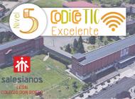 """El Centro """"Don Bosco León"""" certificado con el nivel de excelencia de CoDice TIC"""